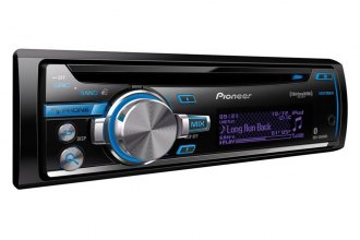 Pioneer® - Single DIN In-Dash CD/MP3/WMA/AM/FM Stereo Receiver with Remote, AUX, USB Input