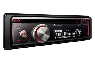 Pioneer® - Single DIN CD/MP3/AM/FM/USB Receiver with HD Radio, Siri Eyes Free, Android Music Support, Pandora and Bluetooth