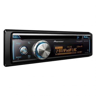 Pioneer® - Single DIN CD/AM/FM/MP3/WMA/FLAC Receiver with Built-In Bluetooth, SiriusXM-Ready, Siri Eyes Free android Music Support and Pandora