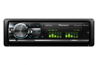 Pioneer® - Single DIN In-Dash CD/MP3/WMA/AM/FM Receiver with Full-Dot LCD Display, MIXTRAX, Bluetooth, HD Radio Tuner and Sirius