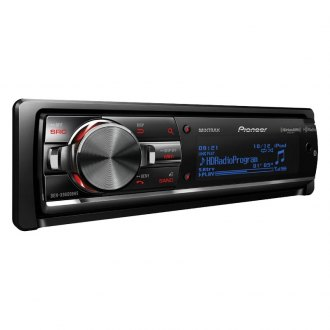 Pioneer® - Single DIN CD/AM/FM/MP3/WMA In-Dash Receiver with Built-In Bluetooth, Full-Dot LCD Display, MIXTRAX, HD Radio Tuner and Sirius