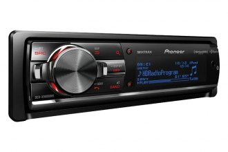 Pioneer® - Single DIN In-Dash CD/MP3/WMA/AM/FM Receiver with Full-Dot LCD Display, MIXTRAX, Bluetooth, HD Radio Tuner, and Sirius