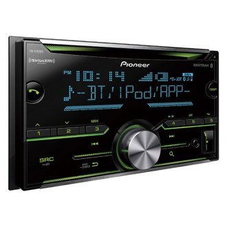Pioneer® - Double DIN CD/AM/FM/MP3/WMA/AAC/FLAC Receiver with Built-In Bluetooth, SiriusXM Ready