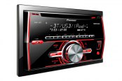 Pioneer® - Double DIN In-Dash CD/MP3/AM/FM Stereo Receiver with Bluetooth, Pandora Link, MIXTRAX and iPod Support