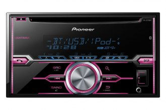 Pioneer® - Double DIN CD / MP3 Receiver with MIXTRAX, Bluetooth, Siri Eyes Free, USB Playback, Pandora, Android Music Support
