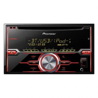 Pioneer® - Double DIN CD/AM/FM/MP3/WMA Receiver with Built-In Bluetooth, MIXTRAX, Siri Eyes Free, USB Playback, Pandora and Android Music Support