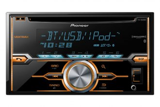 Pioneer® - Double DIN CD/MP3 Receiver with Bluetooth