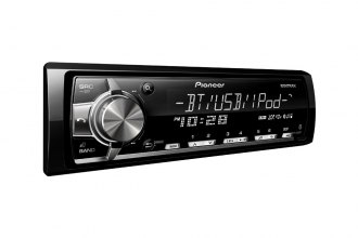 Pioneer® - Single DIN In-Dash MP3/AM/FM Receiver with USB iPod, 3 RCA Preouts, RGB, Bluetooth and MIXTRAX