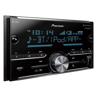 Pioneer® - Double DIN AM/FM/MP3/WMA/AAC/FLAC Digital Media Receiver with Built-In Bluetooth, SiriusXM Ready