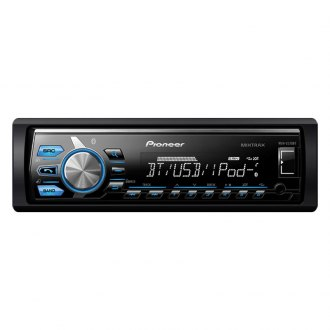 Pioneer® - Single DIN AM/FM/MP3/WMA In-Dash Digital Media Receiver with Built-In Bluetooth, Remote, AUX and USB Input