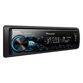 Pioneer® - Single DIN AM/FM/MP3/WMA/AAC In-Dash Digital Media Receiver with Built-In Bluetooth, Short-Chassis Design, MIXTRAX, Siri Eyes Free, USB, Pandora android Music Support