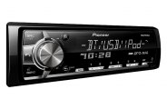 Pioneer® - Single DIN In-Dash MP3/WMA Digital Media Car Stereo Receiver with Remote, AUX, USB Input, Bluetooth