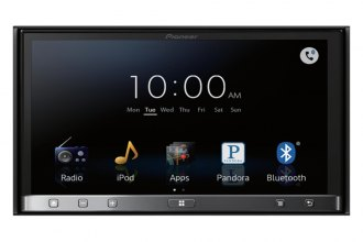 "Pioneer® - Double DIN In-Dash DVD/CD/MP3/WMA/AAC Receiver with 7"" WVGA Touchscreen Display and AppRadio 3, Bluetooth and MirrorLink"
