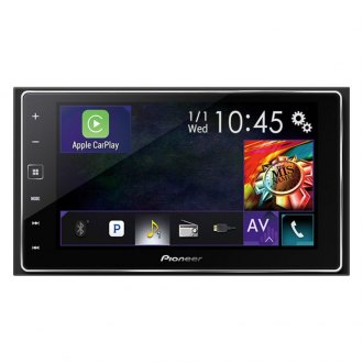 "Pioneer® - Double DIN AM/FM/MP3/WMA/FLAC/AAC/MP4/AVI Digital Media Receiver with 6.2"" Touchscreen Display and Built-In Bluetooth"