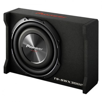 "Pioneer® - 12"" Shallow-Mount Pre-Loaded 1500W Subwoofer Enclosure"