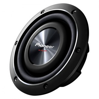 "Pioneer® - 8"" ib-Flat Series Shallow Mount 600W 2 Ohm DVC Subwoofer"