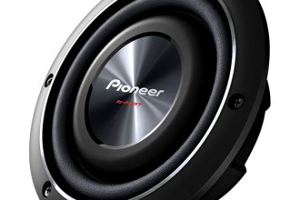 "Pioneer® - 8"" Shallow Mount 600W 2 Ohm Subwoofer"