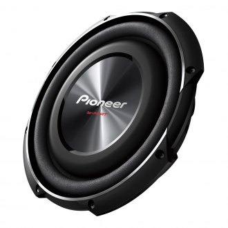 "Pioneer® - 10"" ib-Flat Series Shallow Mount 1200W 4 Ohm DVC Subwoofer"