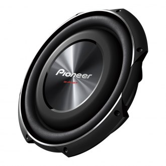 "Pioneer® - 12"" ib-Flat Series Shallow Mount 1500W 4 Ohm SVC Subwoofer"