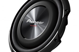 "Pioneer® - 12"" Shallow Mount 1500W 4 Ohm Subwoofer"