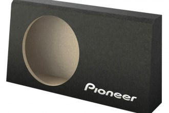 "Pioneer® - 10"" Wedge Enclosure for Shallow Subwoofer"
