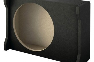 "Pioneer® - 12"" Wedge Enclosure for Shallow Subwoofer"