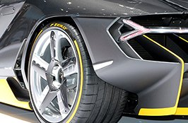 PIRELLI® - Tires on Lamborghini Centenario