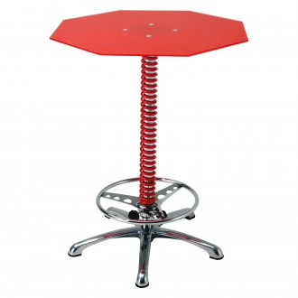 PitStop Furniture® - Crew Chief Red Bar Table
