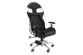PitStop Furniture® - LXE Office Black-on-Black Chair