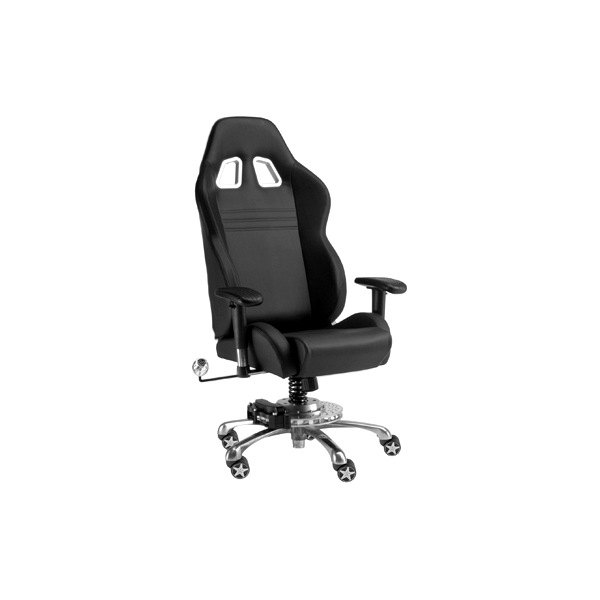 PitStop Furniture® - GT Office Black-on-Black Chair