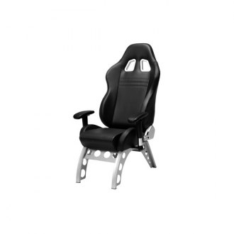 PitStop Furniture® - GT Receiver Series Black-on-Black Chair