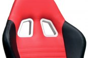 PitStop Furniture® - Grand Prix Series Red Backrest