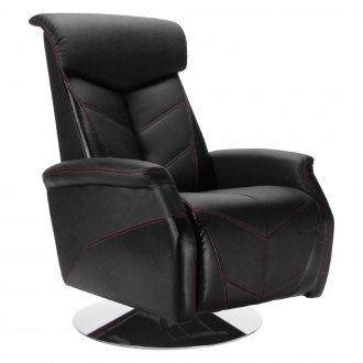 PitStop Furniture® - Racing Style Carbon Fiber Recliner Chair