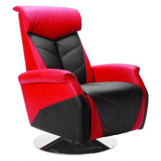 PitStop Furniture® - Racing Style Red Recliner Chair