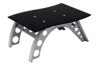 PitStop Furniture® - Black Side Table