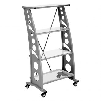 PitStop Furniture® - Chicane Clear Book Case