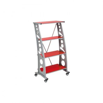 PitStop Furniture® - Chicane Red Book Case