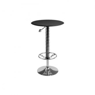 PitStop Furniture® - Pit Crew Black Faux Bar Table