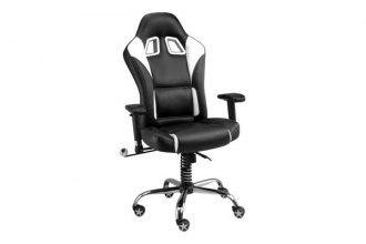 PitStop Furniture® - SE Series Black with Contrast Stitching Chair