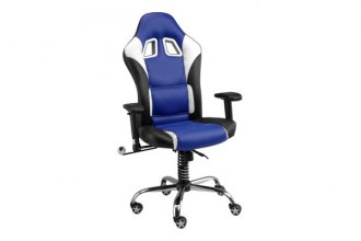 PitStop Furniture® - SE Series Blue with Contrast Stitching Chair