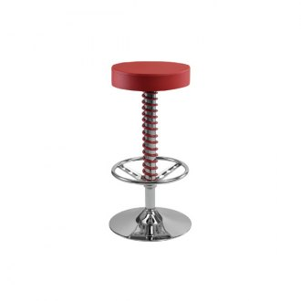 PitStop Furniture® - Pit Crew Red Bar Stool