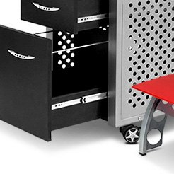 PitStop Furniture® - Black File Cabinet