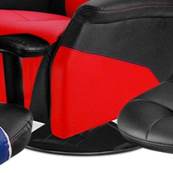 PitStop Furniture® - Black Racing Recliner Chair