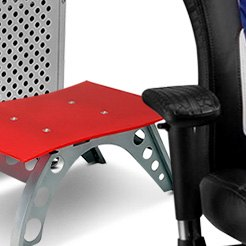 PitStop Furniture® - Chicane Red Side Table