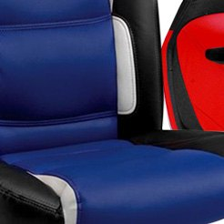 PitStop Furniture® - Se Series Navy With Contrast Stitching Chair