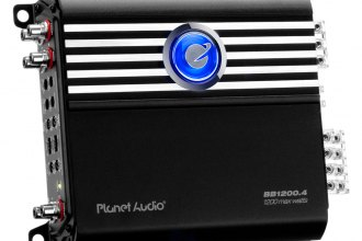 Planet Audio® - Big Bang Series Class D 4-Channel 1200W Amplifier
