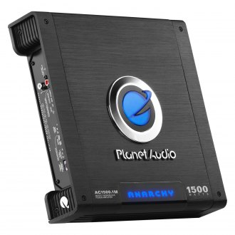 Planet Audio® - Anarchy Series Class AB Mono 1500W Amplifier