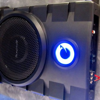 Planet Audio® - Subwoofer with 2 Channel Amplifier