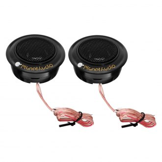 "Planet Audio® - 3/4"" 50W Soft Silk Dome Tweeters"