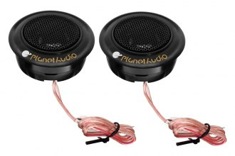 "Planet Audio® - 3/4"" Soft Silk Dome 50W Tweeter"